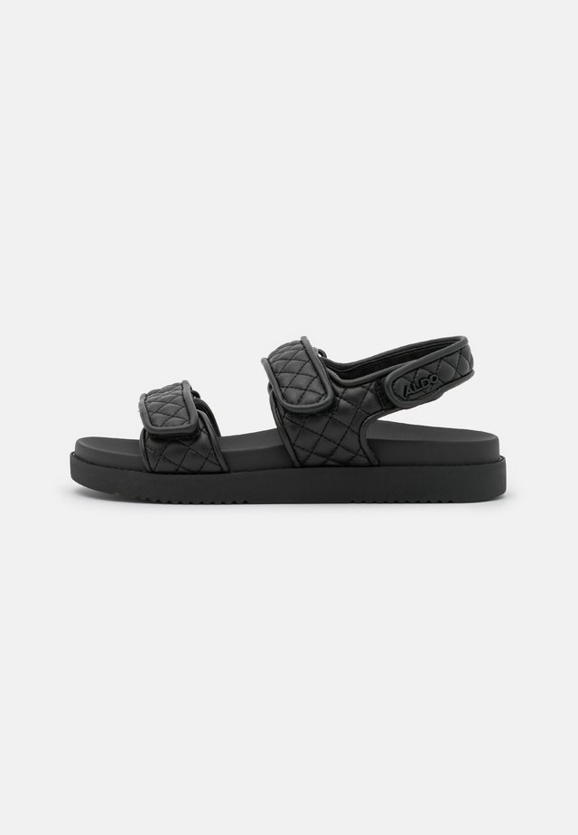 EOWILIWIA - Platform sandals - black