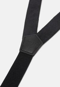 Only & Sons - ONSBOWTIE SUSPENDER SET - Belt - black - 4