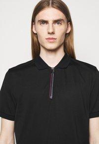 PS Paul Smith - MENS ZIP  - Polo shirt - black - 3