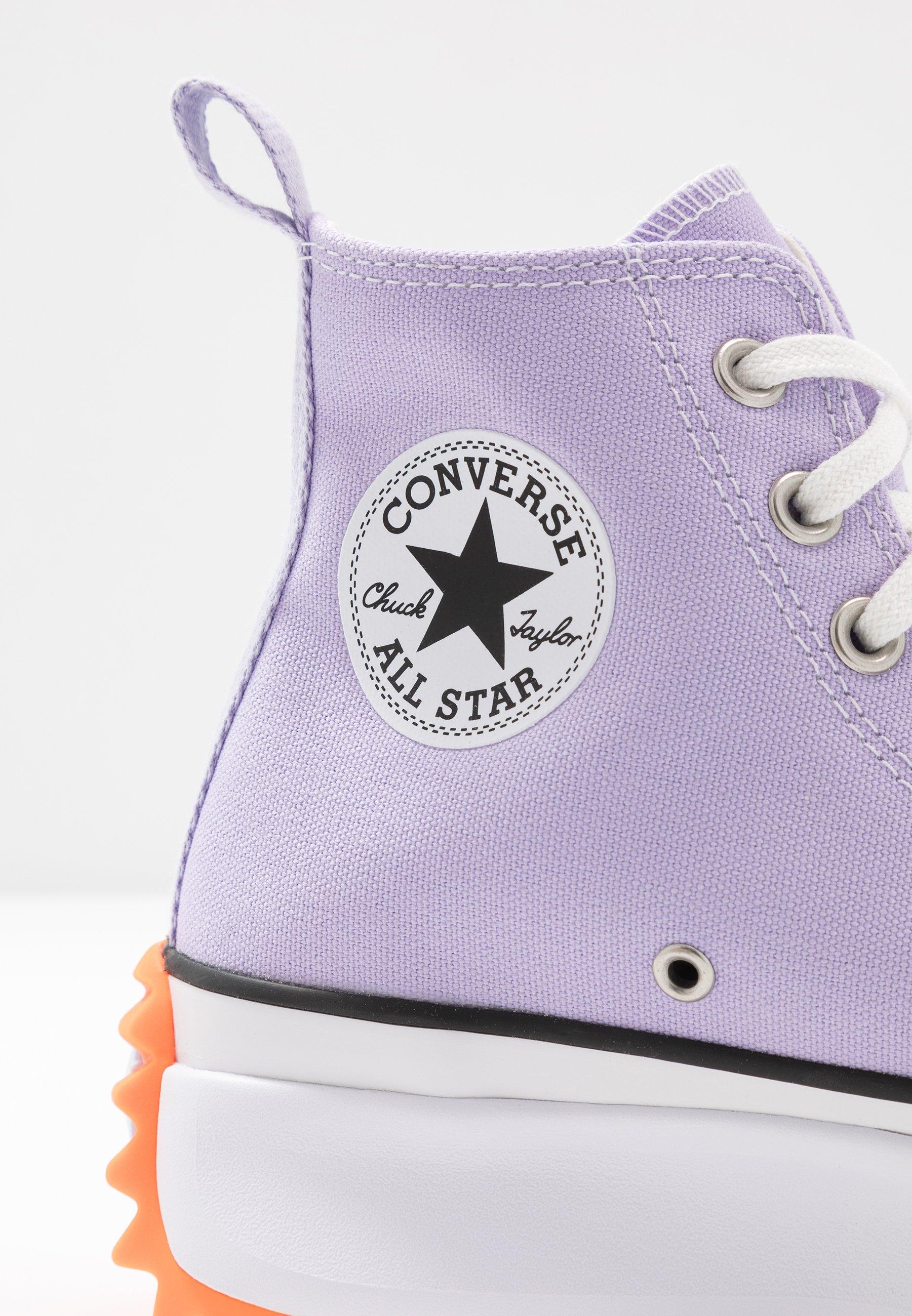 converse enfant violet