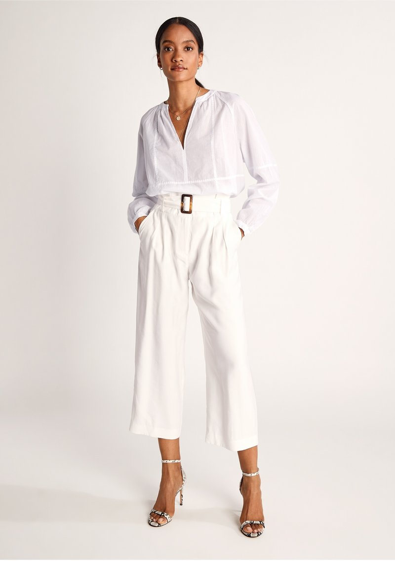 comma - Trousers - offwhite