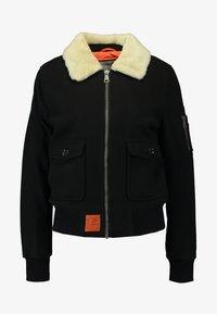 Bombers - AVIATOR - Light jacket - black - 5