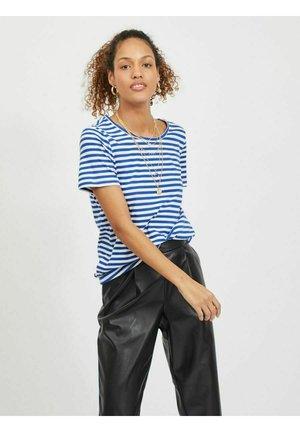 VISUS NOOS - Print T-shirt - mazarine blue