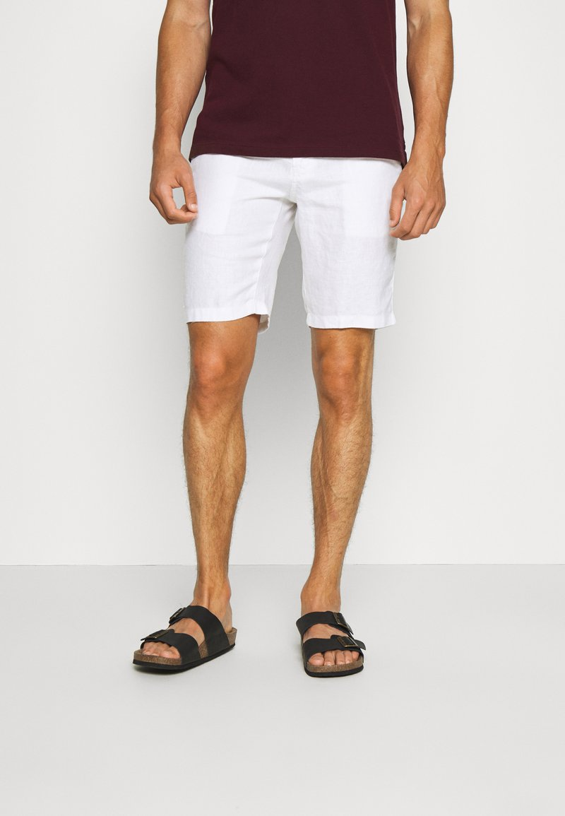 Teddy Smith - SPIKE  - Shorts - blanc