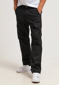 Dickies - EDWARDSPORT - Cargobukser - black - 0