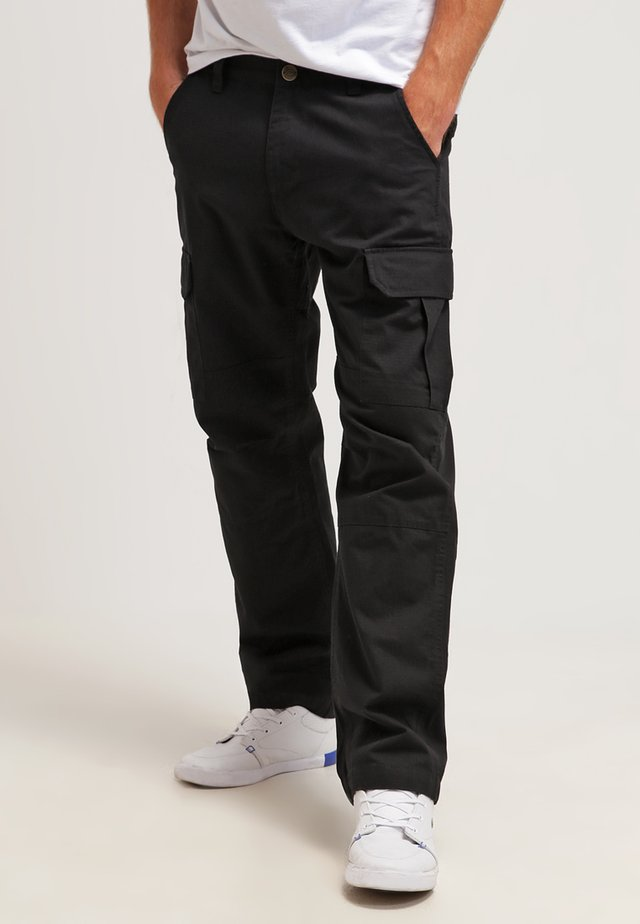 EDWARDSPORT - Cargo trousers - black