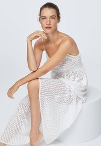 OYSHO - Korte jurk - white - 3