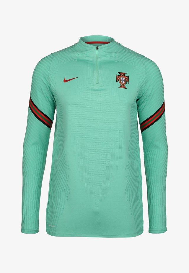 PORTUGAL STRIKE DRILL - Sweater - mint/sport red