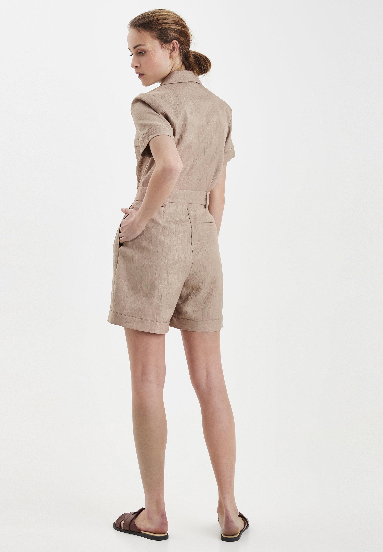 Origineel Best Verkopende Dameskleding sdkjGX55lghisd ICHI Jumpsuit natural pTvKRZ7