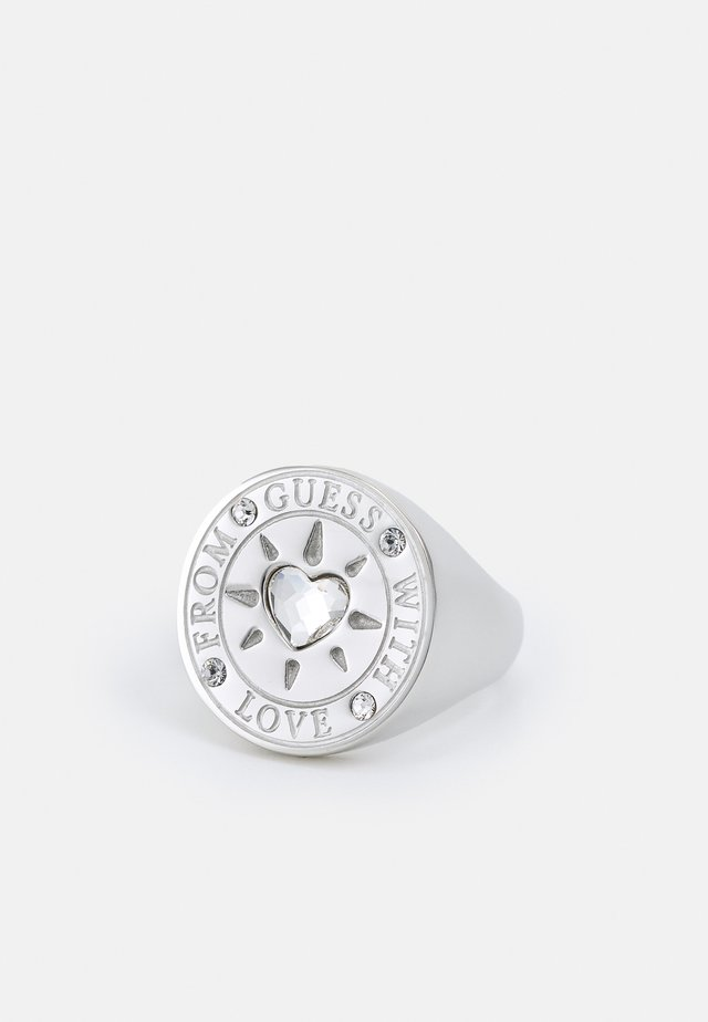 WITH LOVE - Anello - silver-coloured