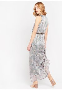 LolaLiza - WITH FLOWERS AND BELT - Maxi dress - turquoise - 2