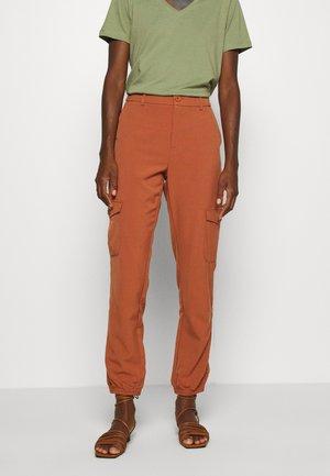KAEDA  - Cargo trousers - sierra