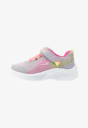 MICROSPEC - Trainers - grey/neon pink/lime