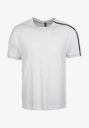 HERREN - Print T-shirt - white