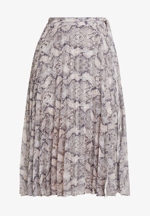 CINDY PLEATED SKIRT - A-line skjørt - beige