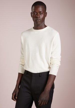 MENS CREW NECK SWEATER - Pullover - ivory