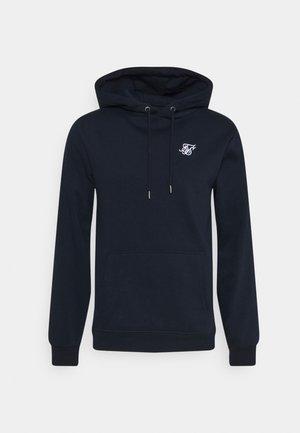 MUSCLE FIT OVERHEAD HOODIE - Sweatshirt - navy