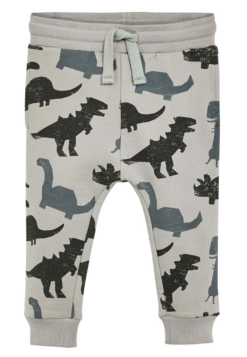 Next - GREY DINO JOGGERS (3MTHS-7YRS) - Tracksuit bottoms - grey