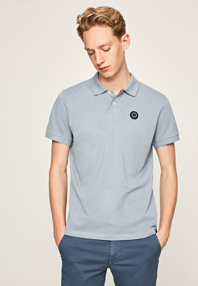 CRANFORD - Polo - blue/grey