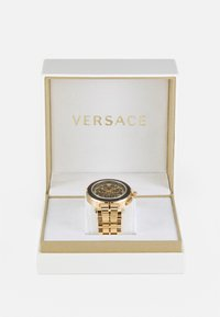 Versace Watches - GRECA - Chronograph watch - gold-coloured/black - 5