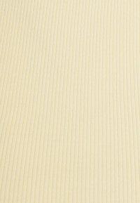 Weekday - STELLA CROP 2 PACK - Top - off black/yellow - 8