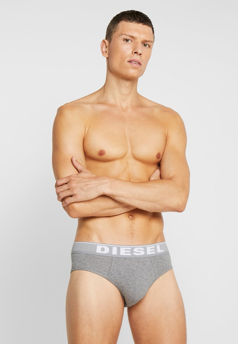 Diesel - UMBR-ANDRETHREEPACK BRIEF 3 PACK - Briefs - black/grey/white