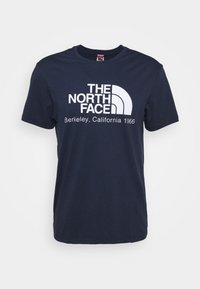 The North Face - BEREKELY CALIFORNIA TEE - Print T-shirt - aviator navy - 4