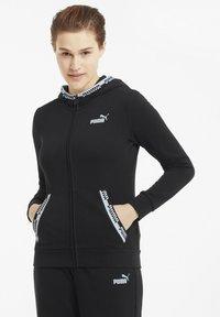 Puma - Zip-up hoodie - puma black - 0