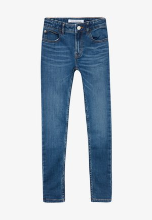 SUPER SKINNY PASS - Skinny džíny - blue denim