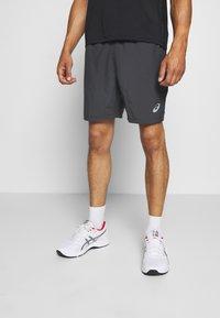ASICS - 2-IN-1 SHORT - Pantalón corto de deporte - dark grey - 0