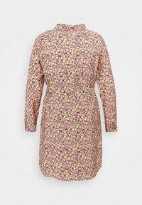 Vero Moda Curve - VMELLIE SHORT DRESS - Shirt dress - geranium pink - 6