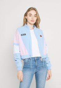 Ellesse - STEPHANIE CROP TRACK  - Summer jacket - light blue - 0