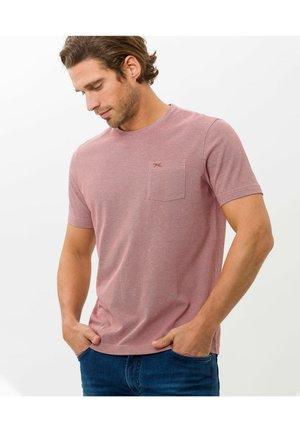 STYLE TODD - T-shirt basic - cinnamon