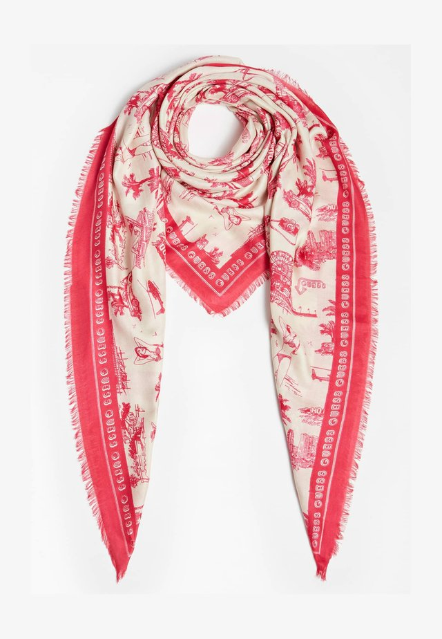 KUFIJA - Foulard - mehrfarbe rose
