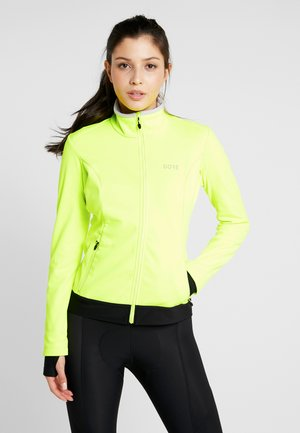 THERMO  - Softshellová bunda - neon yellow/black