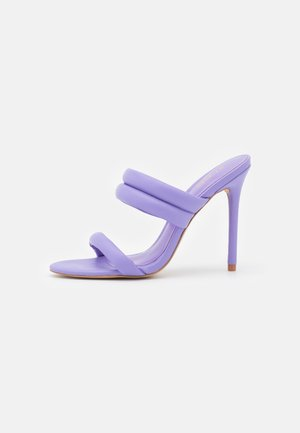 ABARDOLITH - Heeled mules - purple