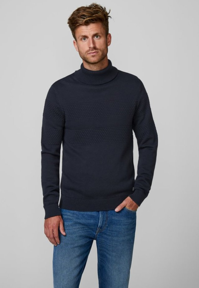 Sweter - dark navy