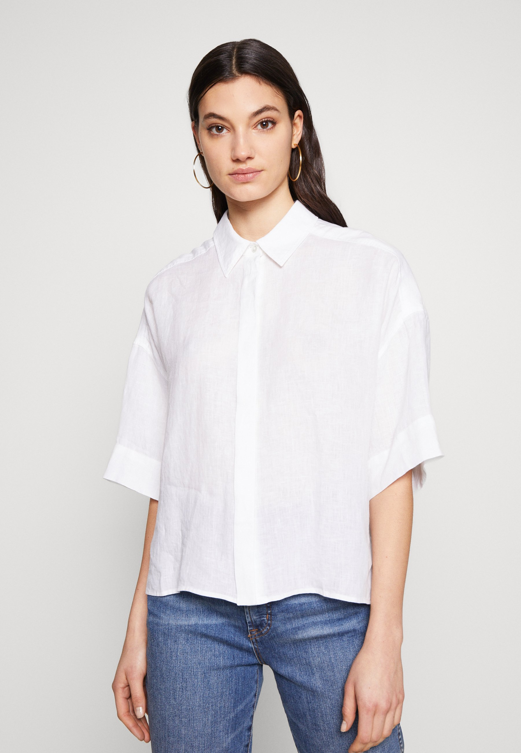2020 Newest Women's Clothing DRYKORN THERRY Button-down blouse weiss Lk8OYY3Eb