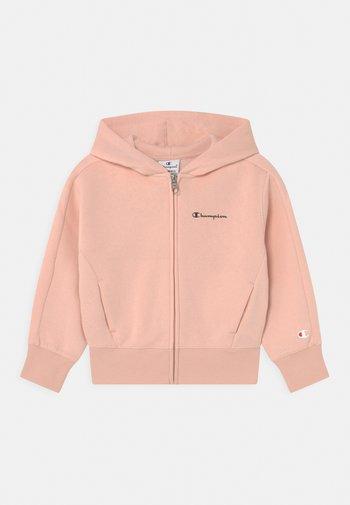 ADDICTED HOODED FULL ZIP - Felpa con zip - light pink