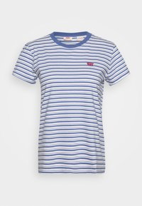 Levi's® - PERFECT TEE - T-shirt z nadrukiem - silphium colony blue - 4