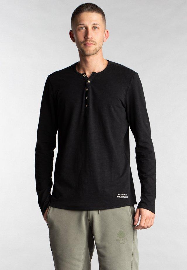 Basic T-shirt - 1001 black