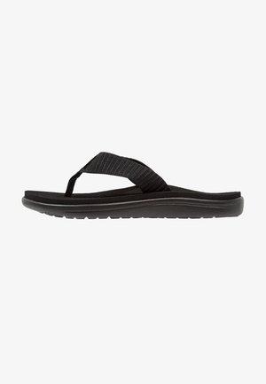VOYA - T-bar sandals - bar street black