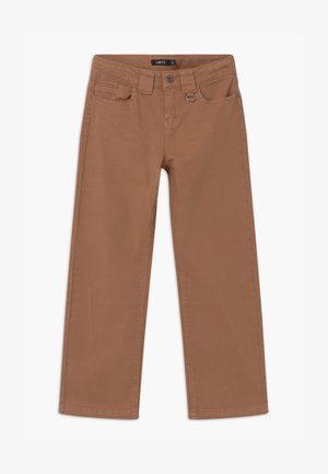 NLFRAVEN TWIATIVAS WIDE ANCLE - Straight leg jeans - thrush