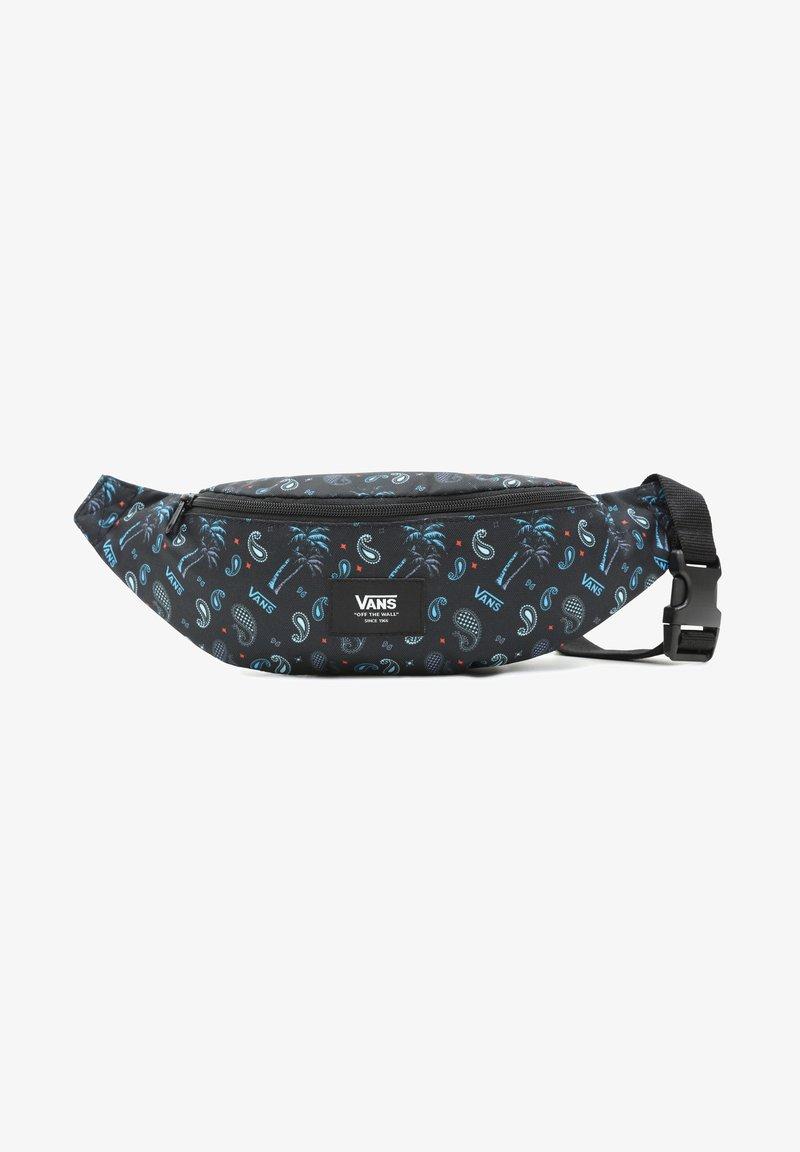 Vans - UA MINI WARD CROSS BODY - Bum bag - plaid pink/black/blue