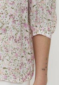 b.young - BYFLAMINIA - Button-down blouse - fuchsia pink mix - 4