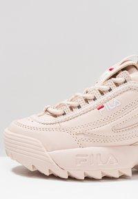 Fila - DISRUPTOR - Sneakers basse - peach whip - 2
