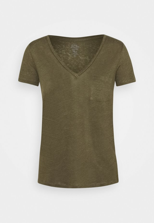 T-shirt basique - frosty olive