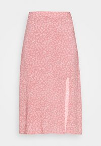 Hollister Co. - SLIP SKIRT - A-line skirt - coral - 3