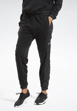 MYT WARM-UP JOGGERS - Tracksuit bottoms - black