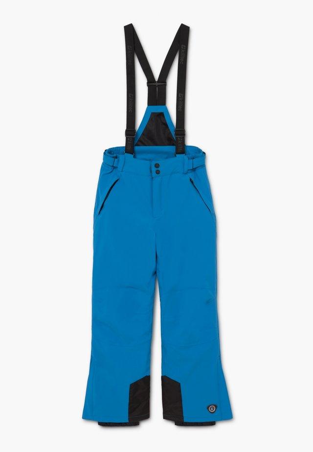 GAUROR - Pantaloni da neve - blau/schwarz